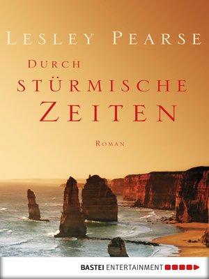 cover image of Durch stürmische Zeiten