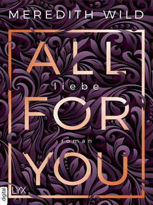 cover image of All for You--Liebe