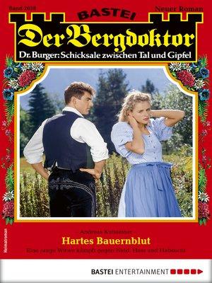 cover image of Der Bergdoktor 2038--Heimatroman