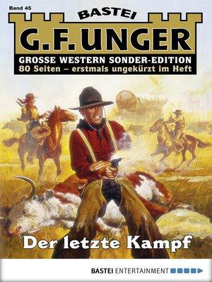 cover image of G. F. Unger Sonder-Edition--Folge 045