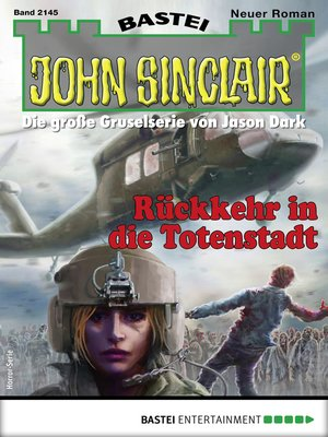 cover image of John Sinclair 2145--Horror-Serie
