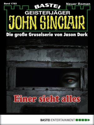 cover image of John Sinclair--Folge 1763