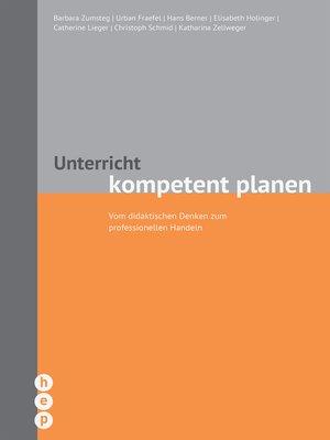 cover image of Unterricht kompetent planen (E-Book, Neuauflage)