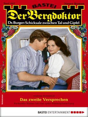cover image of Der Bergdoktor 1947--Heimatroman