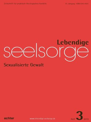 cover image of Lebendige Seelsorge 3/2019
