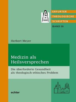 cover image of Medizin als Heilsversprechen