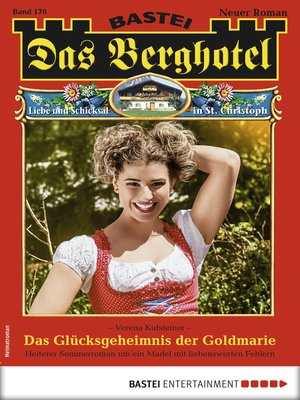 cover image of Das Berghotel 170--Heimatroman