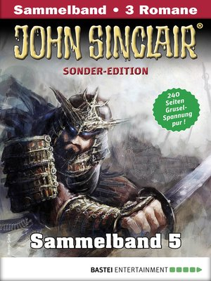 cover image of John Sinclair Sonder-Edition Sammelband 5--Horror-Serie