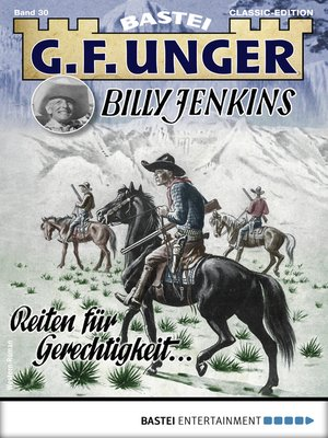 cover image of G. F. Unger Billy Jenkins 30--Western