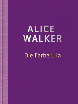 cover image of Die Farbe Lila