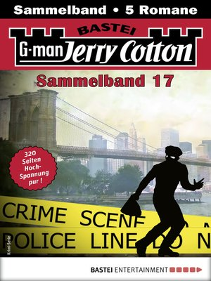 cover image of Jerry Cotton Sammelband 17--Krimi-Serie