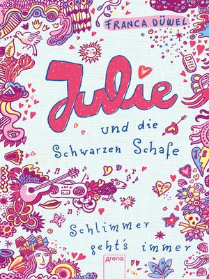 cover image of Julie und die schwarzen Schafe