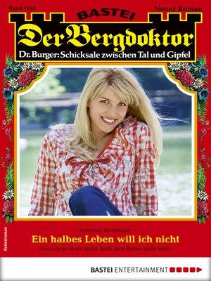 cover image of Der Bergdoktor 1944--Heimatroman