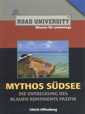 cover image of Mythos Südsee
