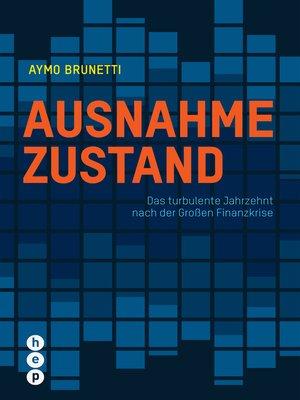 cover image of Ausnahmezustand (E-Book)
