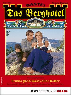 cover image of Das Berghotel 183--Heimatroman
