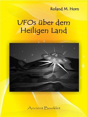 cover image of UFOs über dem Heiligen Land