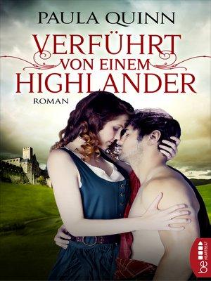 cover image of Verführt von einem Highlander