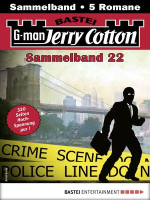 cover image of Jerry Cotton Sammelband 22--Krimi-Serie