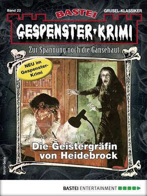 cover image of Gespenster-Krimi 22--Horror-Serie