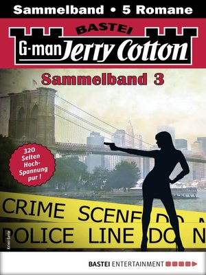 cover image of Jerry Cotton Sammelband 3--Krimi-Serie