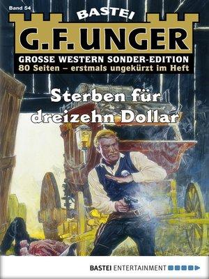 cover image of G. F. Unger Sonder-Edition--Folge 054