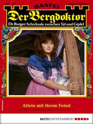 cover image of Der Bergdoktor 1980--Heimatroman