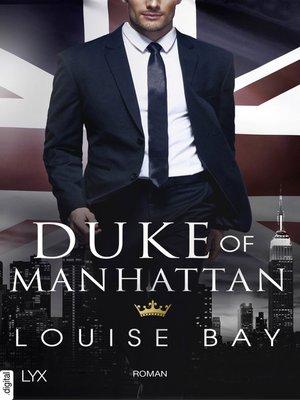 cover image of Duke of Manhattan