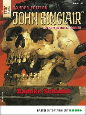 cover image of John Sinclair Sonder-Edition 105--Horror-Serie