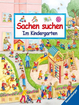 cover image of Sachen suchen--Im Kindergarten