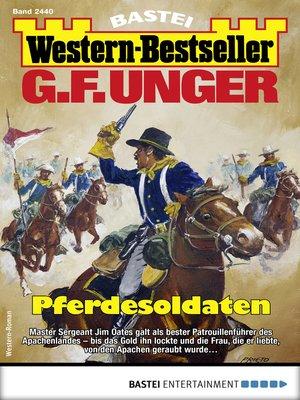 cover image of G. F. Unger Western-Bestseller 2440--Western