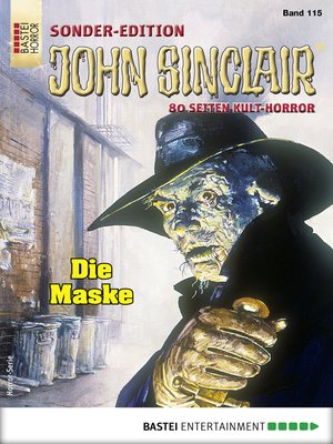 cover image of John Sinclair Sonder-Edition 115--Horror-Serie