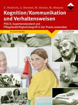 cover image of Kognition/Kommunikation und Verhaltensweisen