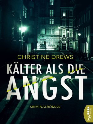 cover image of Kälter als die Angst