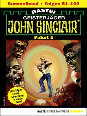 cover image of John Sinclair-Paket 2--Horror-Serie
