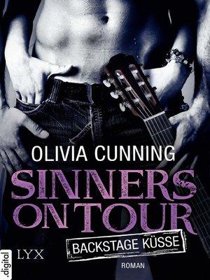 cover image of Sinners on Tour--Backstage-Küsse