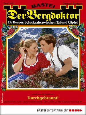 cover image of Der Bergdoktor 1951--Heimatroman