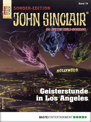 cover image of John Sinclair Sonder-Edition 76--Horror-Serie