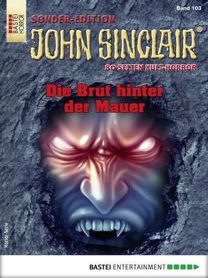 cover image of John Sinclair Sonder-Edition 103--Horror-Serie