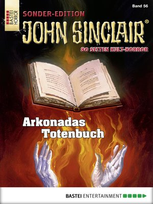 cover image of John Sinclair Sonder-Edition--Folge 056