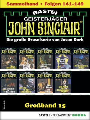 cover image of John Sinclair Großband 15--Horror-Serie