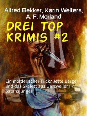 cover image of Drei Top Krimis #2