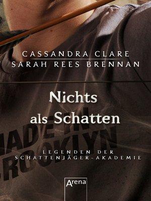 cover image of Nichts als Schatten