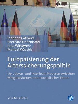 cover image of Europäisierung der Alterssicherungspolitik