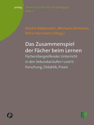 cover image of Das Zusammenspiel der Fächer beim Lernen
