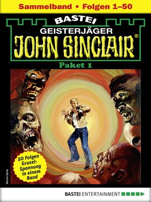 cover image of John Sinclair-Paket 1--Horror-Serie