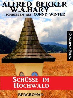 cover image of Schüsse im Hochwald