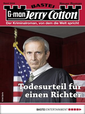 cover image of Jerry Cotton 3244--Krimi-Serie
