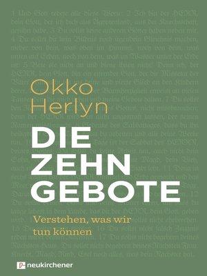 cover image of Die Zehn Gebote