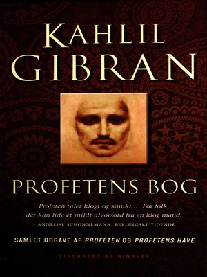 cover image of Profetens bog